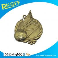 Buy cheap Zinc Alloy Volleyball Gold Medals from Wholesalers