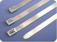 Buy cheap Ball Lock Type Stainless Steel Cable Ties (12mm width) product