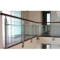 Buy cheap Heat Resistant Safety Laminated Glass For Staircase Railing, 8mm + 1.14pvb + 8mm product