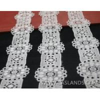 Buy cheap African lace white trim lace LCF23020MNF from wholesalers