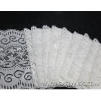 Buy cheap Classical white lace fabric for garments LCHJ5371 product