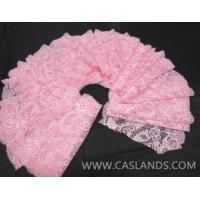 Buy cheap 2014 pink double color floral classical lace fabric for garments LCS65003 from wholesalers