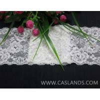Buy cheap White rose lace fabric for bride LCF22538 from wholesalers