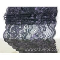 Buy cheap Sexy double colored black lace fabric for bra LCF22560 product