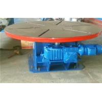 China 5T Horizontal Rotary Welding Positioners Turntables Heavy Duty on sale