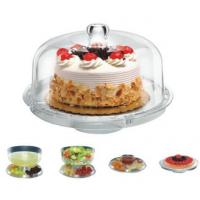 Buy cheap YK-A121 Multifunctional Acrylic Cake Stand with Cover YK ...