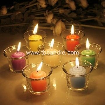 how to make multi-colored pillar candles