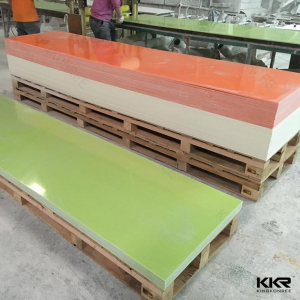 Quality 100% Pure Acrylic Solid Surface with Chips (GMA30)100% Pure Acrylic Solid Surface with chips(GMA30) for sale
