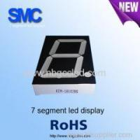 Buy cheap 1 digit Seven segment led display 3.0inch of 1 digits product