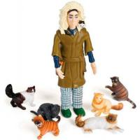 Buy cheap Crazy Cat Lady Action Figure product
