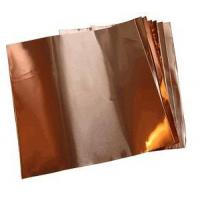 Buy cheap Copper Sheets and Rolls 6 X 6/1.4 Mil Copper Foil (.0014) (10 sheets) product