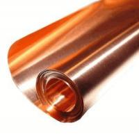 China Copper Sheets and Rolls 24 X 24/ 8 Mil Copper Sheet on sale