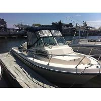 China 1985 Grady White 204c Weekender Fishing Boat With Johnson Outboard Motor starting bid$ 7,500 on sale