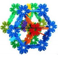 Buy cheap high accuracy plastic injection toy bricks for snowflake moulds p15031601 product