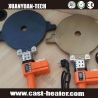 Buy cheap teflon coated aluminum heater for welding machine product