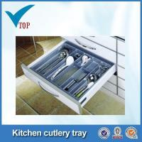 Buy cheap Kitchen cabinet plastic storage tray product