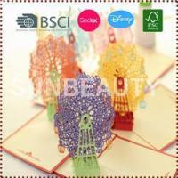 Buy cheap 3D Pop-Up Sky Wheel Greeting & Gift Cards product