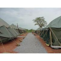 Buy cheap Pole tent Canvas PVC coated Military tent from Wholesalers
