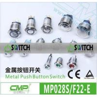 Buy cheap CMP 28MM Pushbutton LED Switch/12V Waterproof LED Switches product