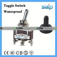 Buy cheap 3P waterproof toggle switch on-on mini toggle switch knife disconnect switch product