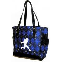 China End of SummerSPECIAL!Baseball Batter Argyle Tote BagONLY 6 LEFT! on sale