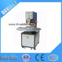 Buy cheap Radio Frequency 3 Stations Manual Turntable PVC Blister Packaging Machine product