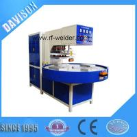 Buy cheap 12KW 4 Stations Automatic Turntable Radio Frequency PVC Blister Packaging Machine product