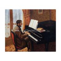 Buy cheap Sepical Young Man Playing the Piano, 1876 product