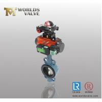 Buy cheap Pneumatic limit switch with standard axle pinless Wafer Butterfly Valve product