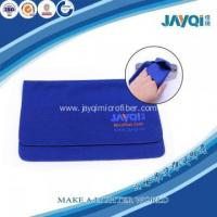 Buy cheap Microfibre Spectacles Cleaner Eyeglass Wipe Model No.:QJB-0949 product