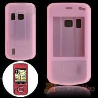 Buy cheap Pink Silicone Skin Case Cover for Nokia 6210 Navigator Silicone Skins product