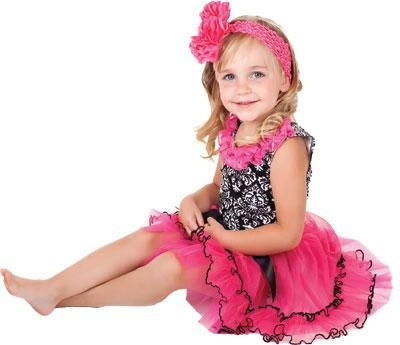 Prancy paris layered ruffle tutu skirt in fuschia amp black tulle net of