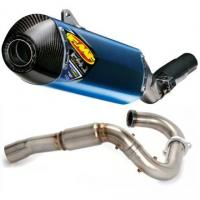 Buy cheap FMF Factory 4.1 Titanium Slip-On RCT With Powerbomb Header And Carbon Fiber End Cap product
