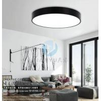 Modern Simplicity Creative Led Ceiling Light Fixtures Round Study Room Balcony Bulbs