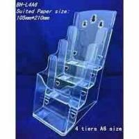 Buy cheap Acrylic Magazine Stand product