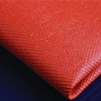 Buy cheap Silicone coated Fiberglass Cloth fabric 0.43mm black product