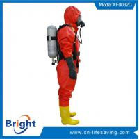 light chemical suit and breathing apparatus