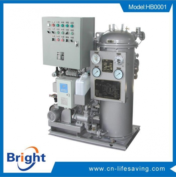 Quality YWC Series 15ppm Bilge Oily Water Separator for sale