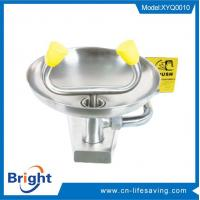 Buy cheap EYE WASH WALL MOUNTED / INDUSTRIAL SAFETY SHOWER (SFT-0593) wall mounted eyewash product