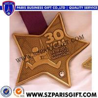 Buy cheap Sports Medal With Ribbon Vienna City Marathon Finisher's Medal product