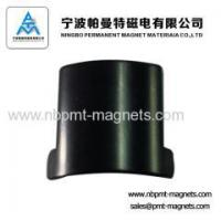 Buy cheap Arc NdFeB magnetic tile for motor product