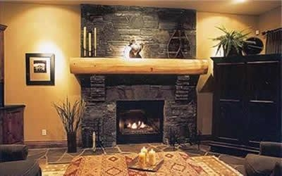 Quality indoor stone fireplaces for sale