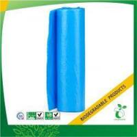 Buy cheap Blue Bin Liner Biodegradable Garbage Bag on Roll Model No:BPB-BL-28 product