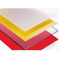 Buy cheap Frosted Polycarbonate Sheets product