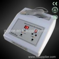 Professional salon ultrasonic skin scrubber for facial cleaning