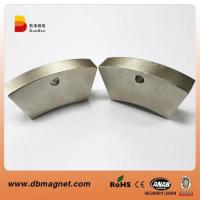 Buy cheap Customized Arc Motor NdFeB Magnets with SGS certification product