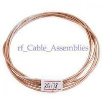 Buy cheap RF Coaxial cable Connector Adapter M17/93-RG178 / 100 feet cable from wholesalers