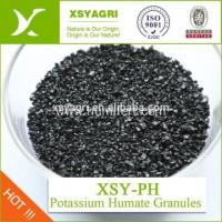 Buy cheap 100% Solubility Potassium Humate For Foliar Fertilizer product