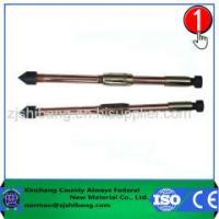 China High Quality And Low Price Copper Coated Steel Ground Rods on sale