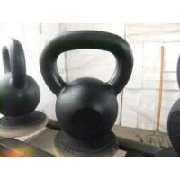 Buy cheap Sparying Paint Cast Iron Kettlebell product